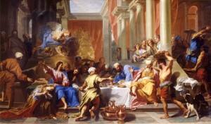 Jean-Baptiste Jouvenet (1644 - 1717), Jésus Christ chez Saint Simon le pharisien (1699), Musée des beaux-arts de Lyon