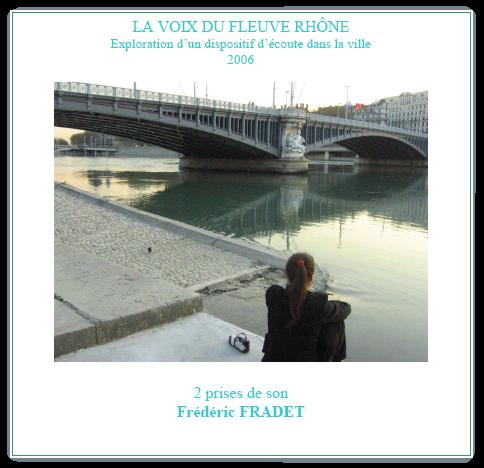 La voix du Fleuve Rhône