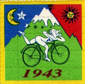 Albert on the bike