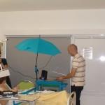 Malette pédagigique avec parapluie de diffusion sonore