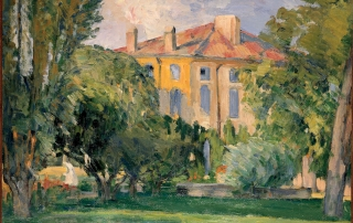 Paul Cézanne, La maison du Jas de Bouffan - 1874