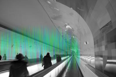 Vue du projet pour le couloir Montparnasse