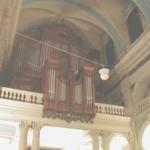 l'orgue de l'église Sainte Polycarpe