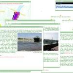 Vue de l'interface de consultation