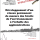 2009 Développement réseau de mesure des bruits des agglomérations