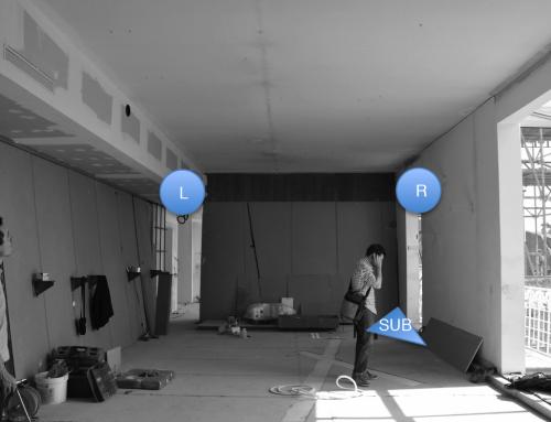 2014 Sonorisation espace de réception Courrèges – Paris