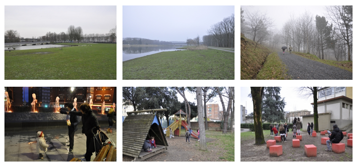 Retour d'impressions au sujet d'un voyage mené à Rotterdam, Bilbao et Florence, à l'écoute d'aménagements intégrant la qualité sonore des lieux